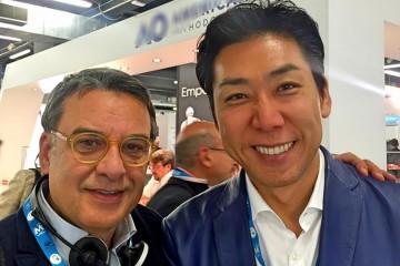 Con Il dr. Kenji Ojima di Tokyo